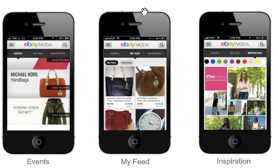 ebay lan a 1a iniciativa no brasil um app de ecommerce focado em moda blue bus. Black Bedroom Furniture Sets. Home Design Ideas