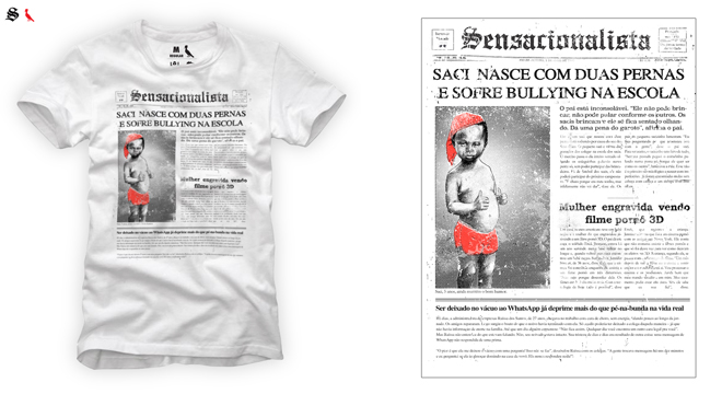 6f610ffae3e66 O post Site  Sensacionalista  lança linha de camisetas em parceria com a  Reserva apareceu primeiro em Blue Bus.
