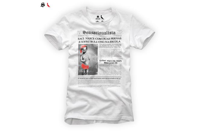 Site 'Sensacionalista' lança linha de camisetas em