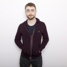 """FILE - In this Jan. 23, 2016 file photo, actor Daniel Radcliffe poses for a portrait to promote the series, """"Swiss Army Man"""" during the Sundance Film Festival in Park City, Utah. Radcliffe will return to a New York stage in James Grahamís play ìPrivacy,î inspired by the revelations by former National Security Agency contractor Edward Snowden.  It runs from July 5-Aug. 7. (Photo by Matt Sayles/Invision/AP, File)"""