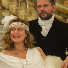 Isabel D´Ávila de Alencar (Patricia Pillar) e Augusto de Valmont (Selton Mello)