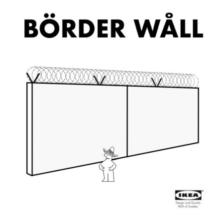 border-wall-IKEA-fake