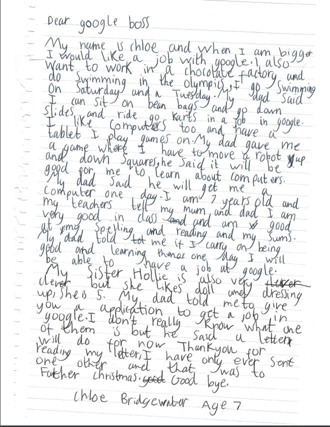 carta-chloe-7-anos-google