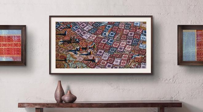 art mode televisor da samsung exibe obras de arte quando. Black Bedroom Furniture Sets. Home Design Ideas