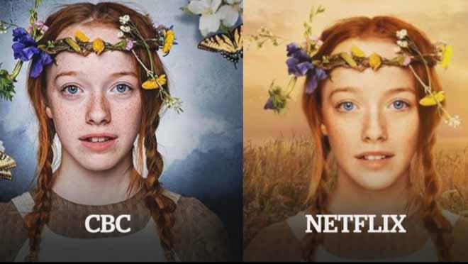 Netflix criticada por usar photoshop em p ster da s rie for Anne et la maison aux pignons verts dvd