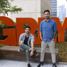 Rafael Gonzaga e Bruno Brux_diretores de criação da Grey Brasil