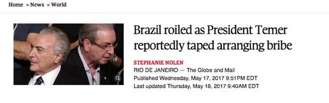 brasil-temer-18-maio-2017-globe-and-mail