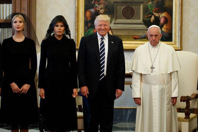 papa-francisco-encontra-donald-trump-24-maio-2017
