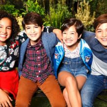 "ANDI MACK - Disney Channel's ""Andi Mack"" stars Sofia Wylie as Buffy, Joshua Rush as Cyrus, Peyton Elizabeth Lee as Andi and Asher Angel as Jonah. (Disney Channel/Craig Sjodiin)"