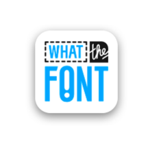 what-the-font-app-bluebus