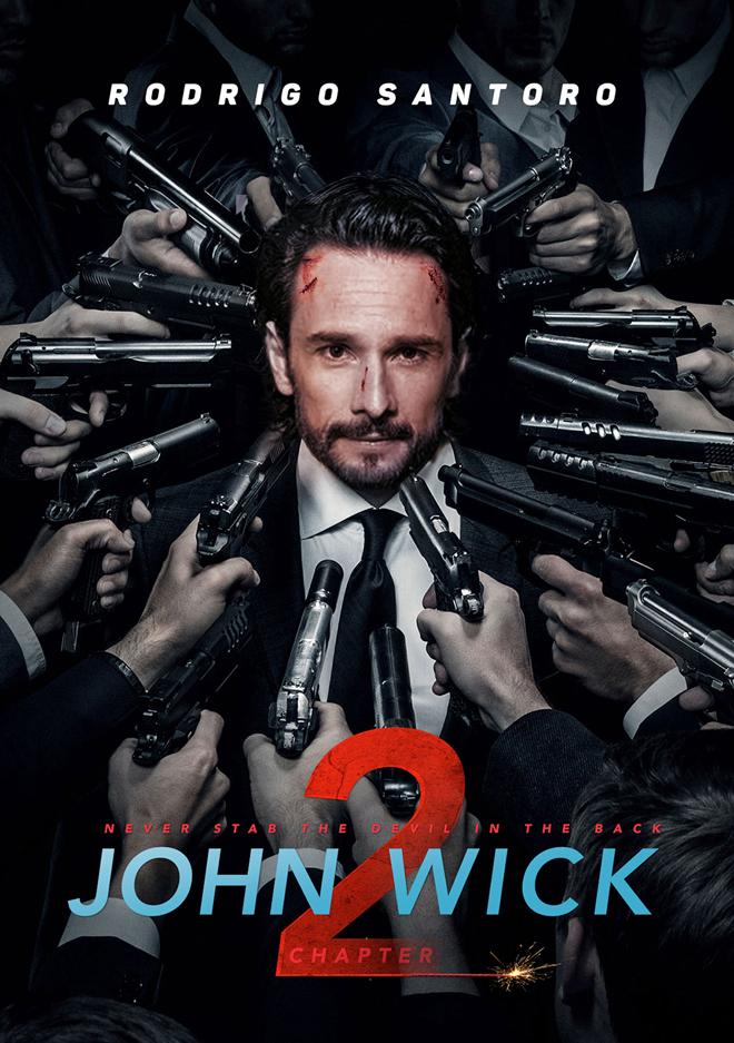 John wick 2 Rodrigo Santoro
