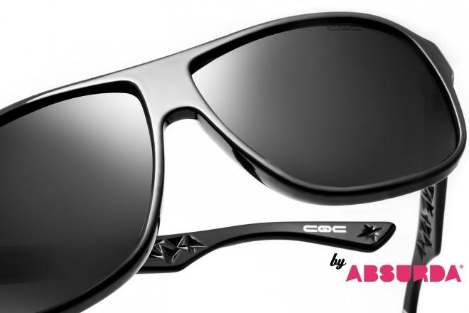 GNova une Absurda e CQC e lança hoje óculos licenciados c  a marca do prog  - Blue Bus fdef965430