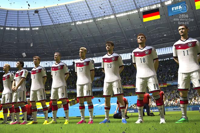 Jogo FIFA 14 prevê q Alemanha vencerá a Copa – ganha do Brasil na final  -)  - Blue Bus 379723599055f