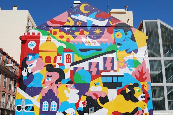 Um passeio pelos grafites de Lisboa nos 463 anos de Sampa