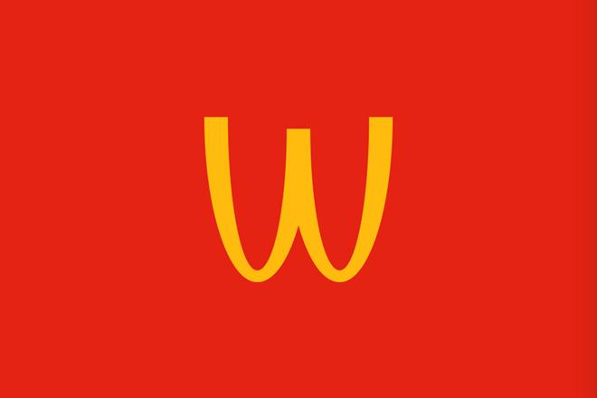 Banksy inspira McDonald's – duas agências, 2 anúncios praticamente iguais