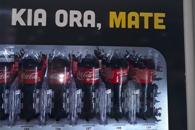 Coca-Cola falha na traduçao, deseja a morte para seus consumidores da Nova Zelândia