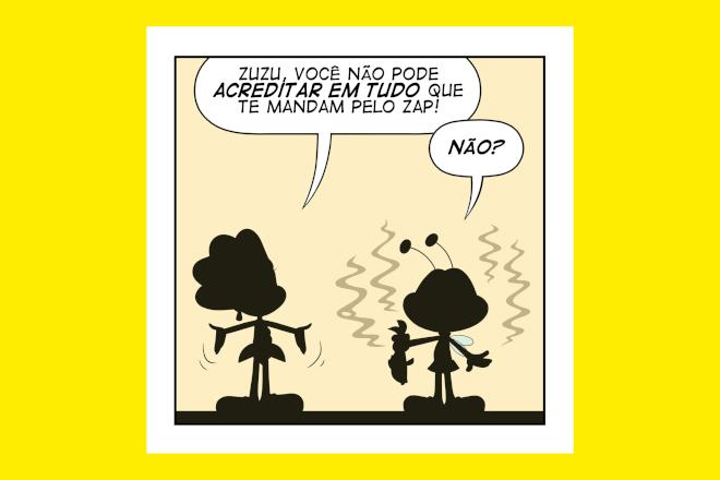 Cartoon Network e ONU Brasil divulgam tirinhas contra a desinformaçao - Blue Bus